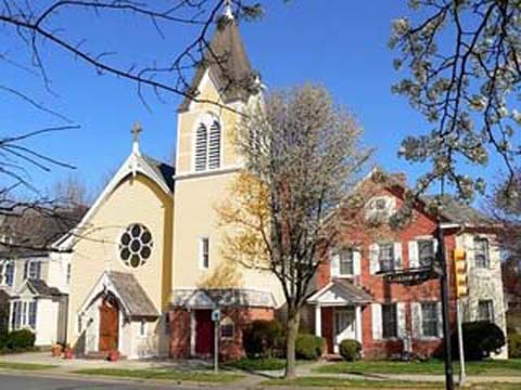 St. Andrew's Church in Easton, Md., was sold at auction.