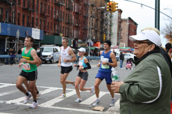 NYC Marathon: A South Bronx fan