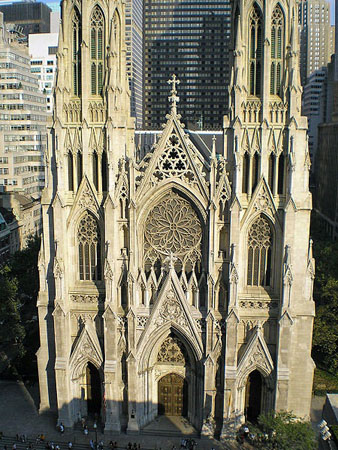 St. Patrick's Cathedral, the site of many AIDS protests.