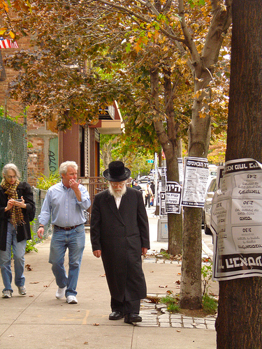 Jewish neighborhood copes with change