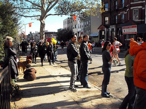 NYC Marathon: A neighborhood comes to life