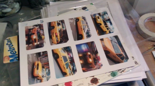 MetroCard artist sparks debate over use of discarded transit materials