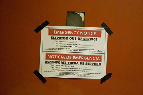 Crumbling East Village Projects: Broken elevators trap elderly and disabled