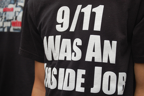 Groups spread their own message at 9/11 memorial service