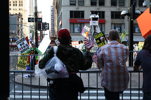 Westboro Baptist Church inflames 9/11 memorial service vistors