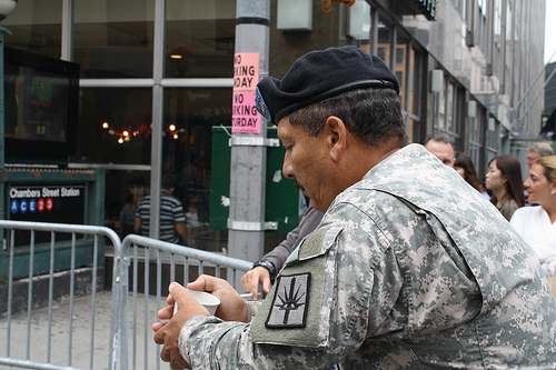Veterans return to ground zero
