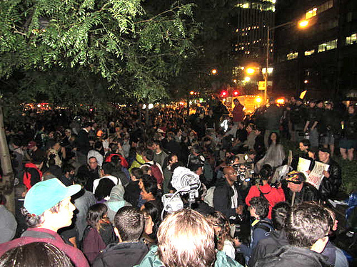 Occupy Wall Street park clean up postponed