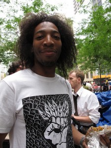 Occupy Wall Street protesters find happiness and meaning in Zuccotti Park