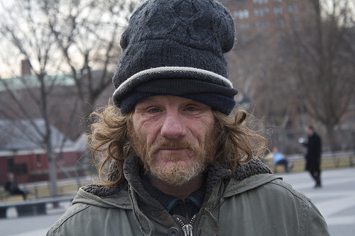 A warm winter brings relief to the homeless