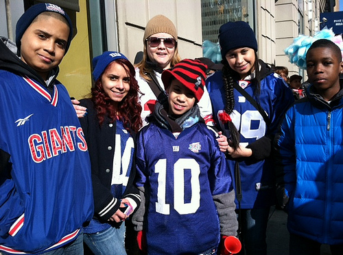 Giants Parade: A family's memories