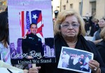 Ilia Rodriguez attends the 11th anniversary of 9/11 in honor or her son. Photo by Daniella Silva