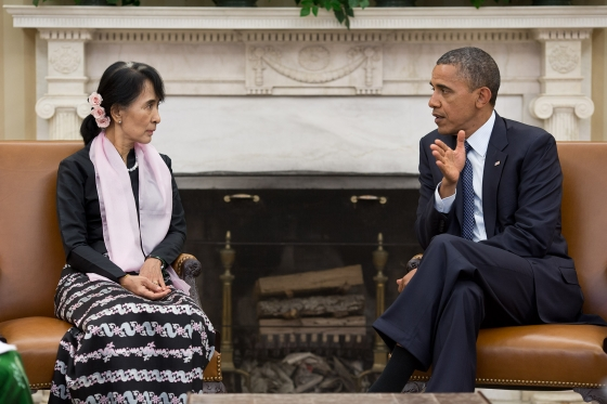 US foreign policy success in Burma overshadowed in election