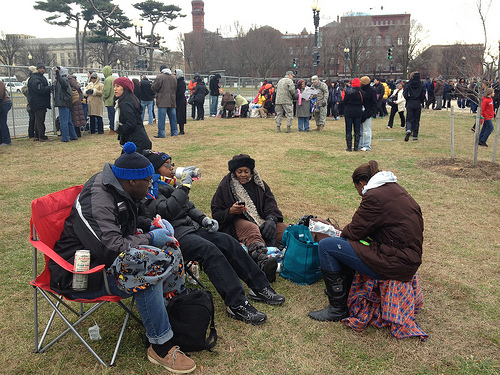 Disorganization causes havoc for Inauguration goers