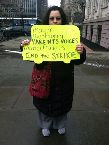 City school bus strike causes hardship for parents