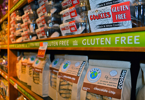 Fuelled by celebrities and the media, gluten-free eating has become a huge dietary trend in North America in the last few years: medical professionals have been skeptical; proponents of the diet say it helps with weight loss and general health. Supermarket aisles now boast an endless selection of gluten-free packaged foods. Photo by Mary Zarikos.