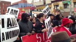 Fast food workers protest low minimum wage