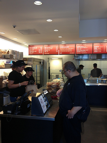 The  Washington Heights Chipotle. Photo by Alexandra Palmer