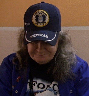 Vietnam air force veteran, Carol Ann Matuszewski, 63 of Bay Ridge, Brooklyn, had difficulty identifying herself as a veteran when she returned from deployment. Photo by Talia Avakian