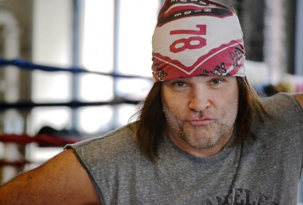 Martin Snow, 54, owner of the Trinity Boxing Club NYC on September 11, 2014. Photo credit: Christina Dun