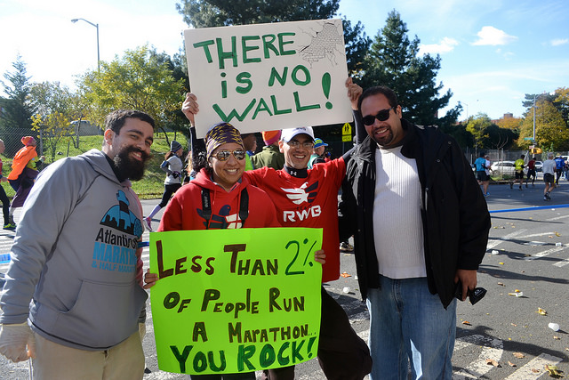 NYC Marathon: At Mile 20, The Bronx