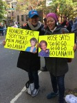 NYC Marathon: Sisters support their sister in Clinton Hill