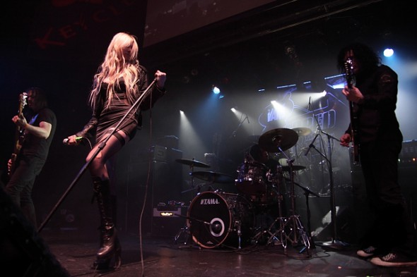 The Pretty Reckless rock out in NYC