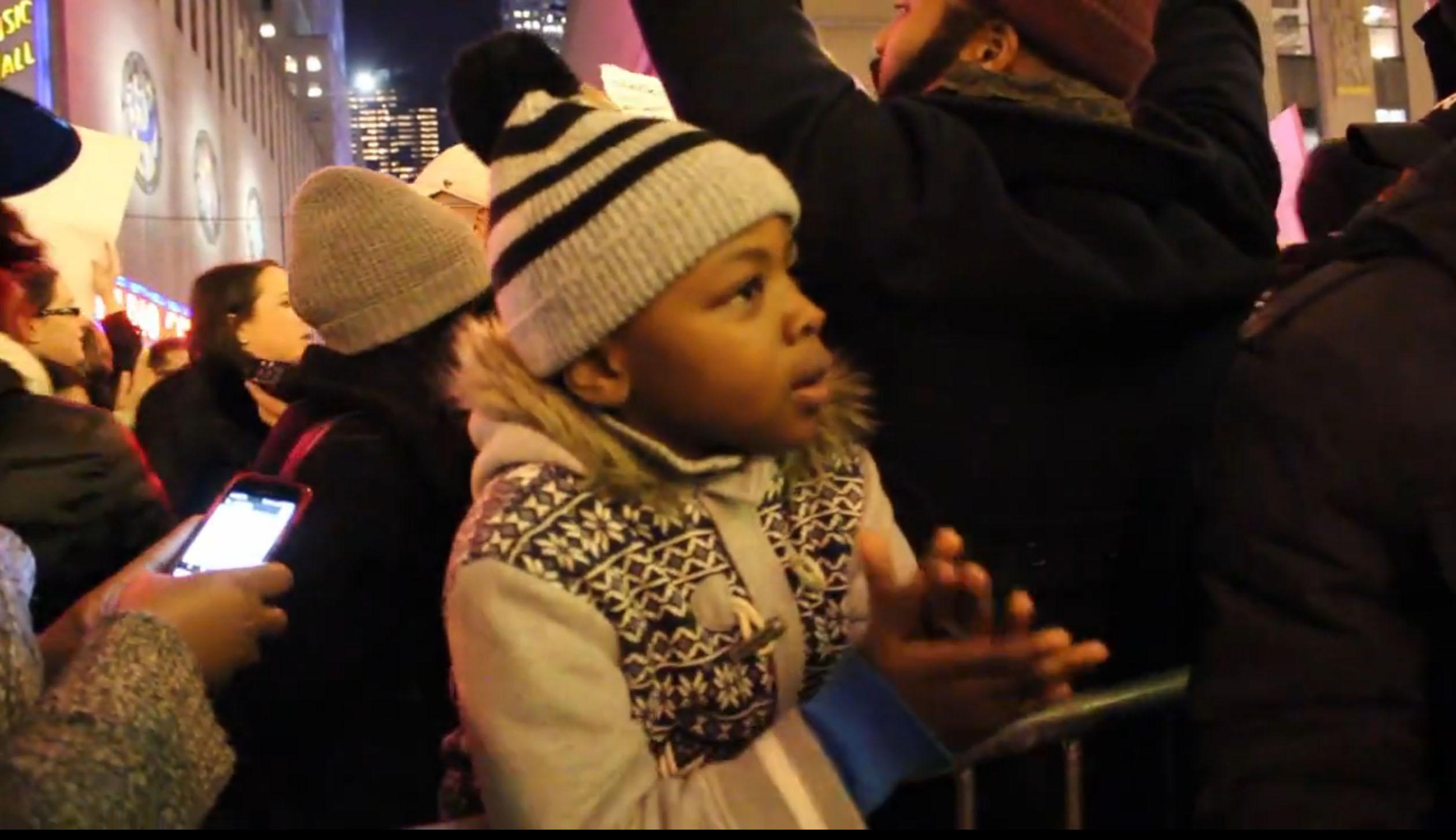 New Yorkers protest Eric Garner verdict