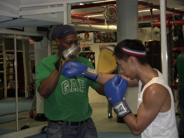 Young boxers fight to stay in school