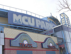 MCU Park in Coney Island. The home of the Brooklyn Cyclones and now the NYU Violets (Photo Credit: Ben Shapiro