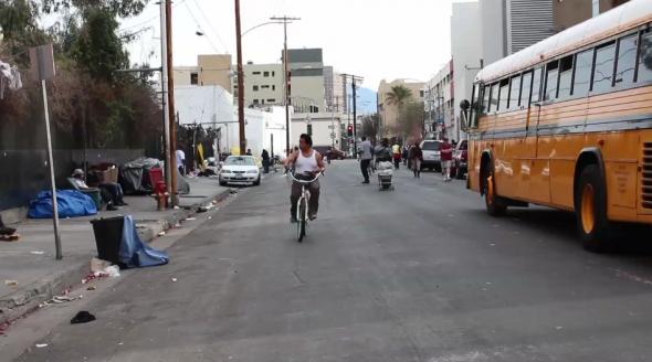 Skid Row: Sidewalk City