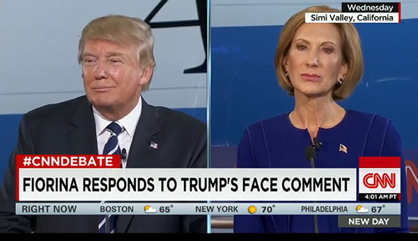GOP CNN Debate: Carly Fiorina FTW