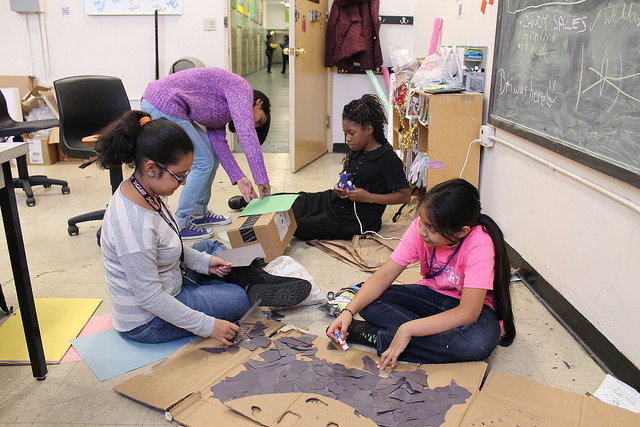 NYC Sparx gives Bronx girls a love of STEM and art