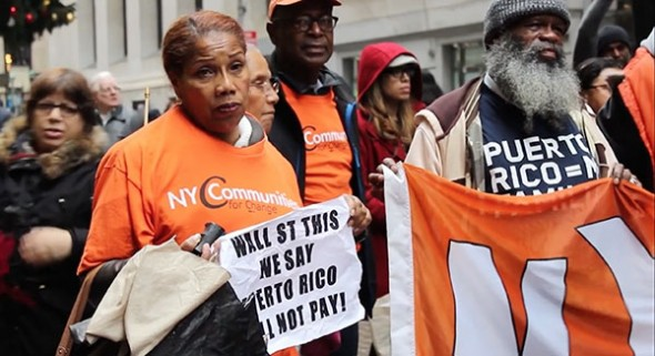 The economic crisis in Puerto Rico impacts NYC