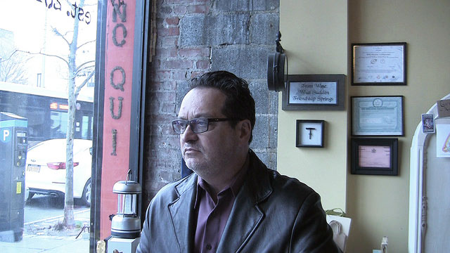 Robert Honor, store owner and user of Staten Island's old Cromwell Center. Photo by Dale Isip