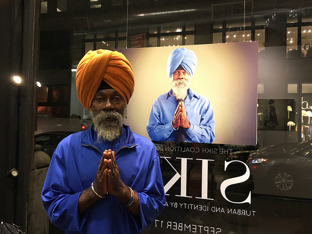 Portraits of Sikh Americans show joy, despite pain