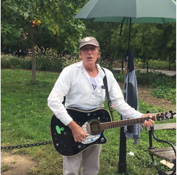NY People: Street Musician Peter May