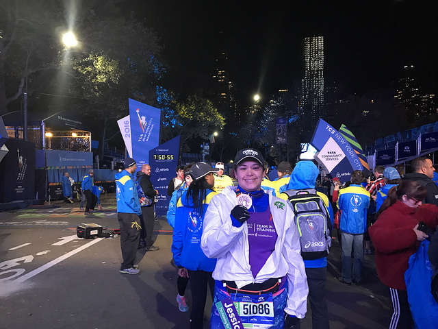 NYC Marathon: Tears of Joy at The Finish Line