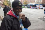 "2016 NYC Marathon: Veteran Whistles for Runners at ""Top of the Fifth"""