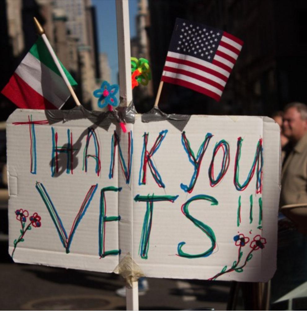 On Veterans Day, vets talk Trump