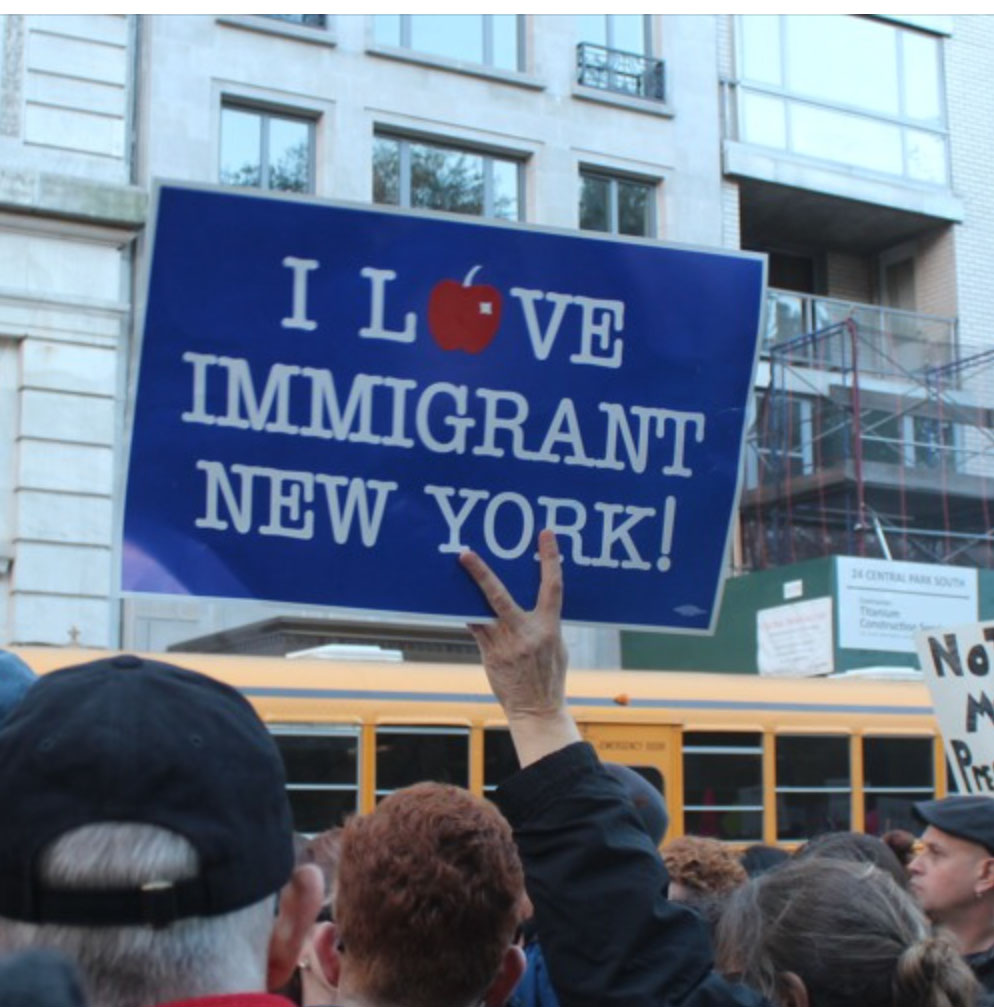 New Yorkers Protest Trump's Immigration Policies