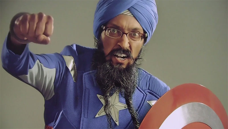 Sikh Captain America Fights Hate