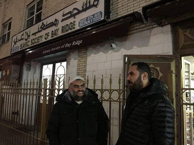 Bay Ridge Residents Stand in Unity Against Trump's Muslim Ban