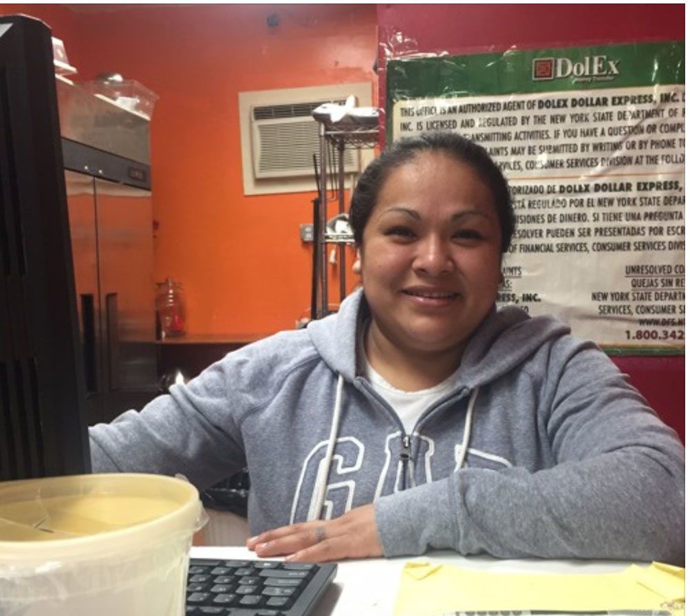 A Mexican business owner remembers her journey and worries about her future