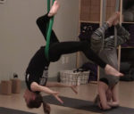 Flying with Aerial Yoga
