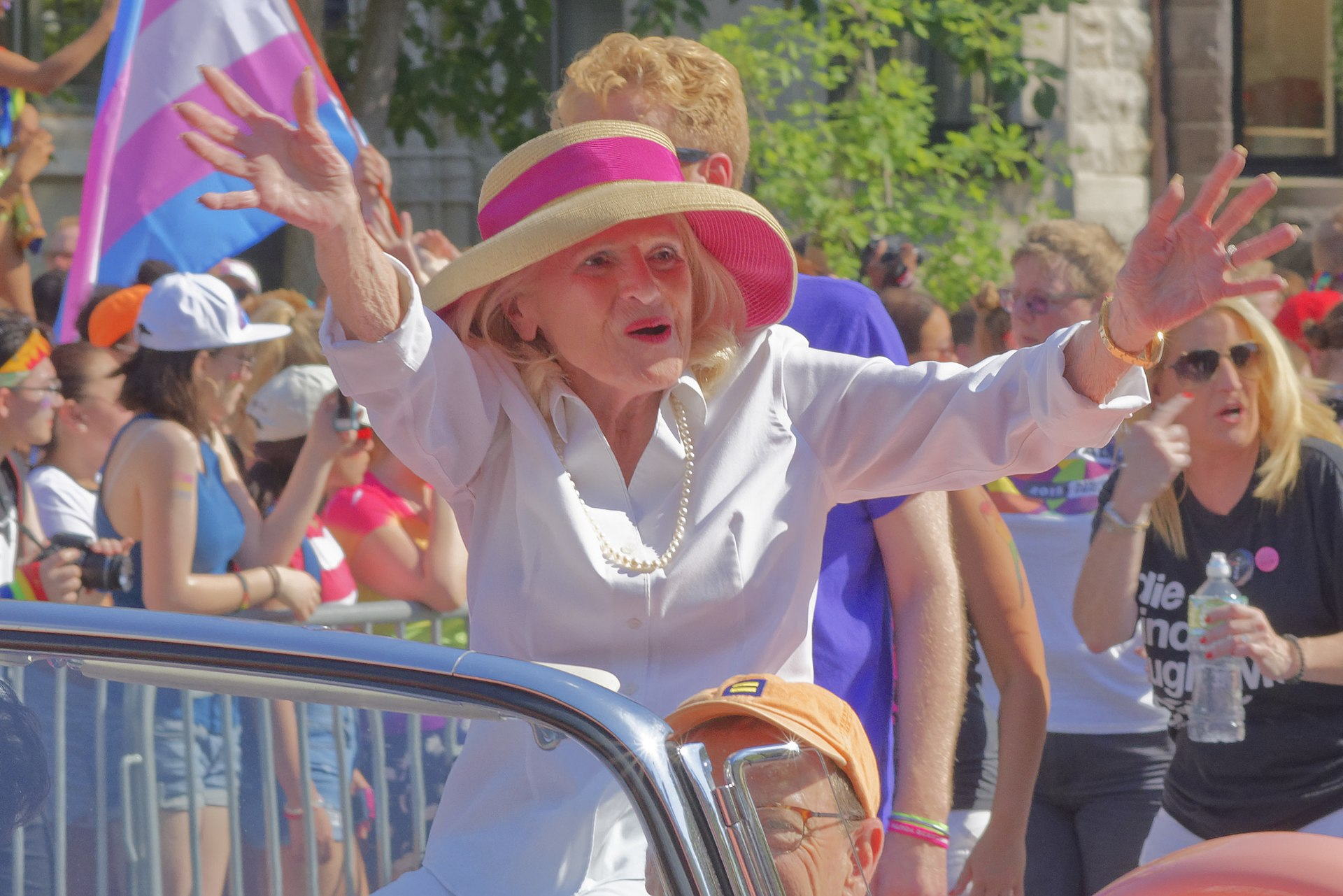 LGBTQ hero Edith Windsor celebrated in moving service