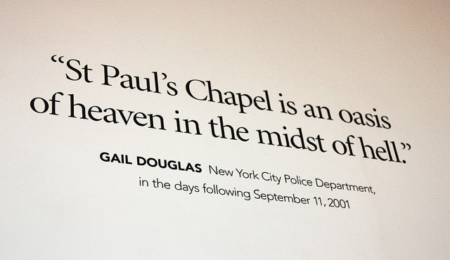 """The Little Church that Stood"" stands as a living memorial to 9/11"