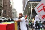 African immigrants rail against dictators in Midtown Manhattan