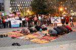 """""""Muslim Ban"""" and bigotry unite protestors"""