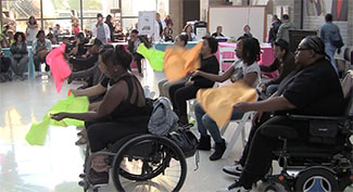 Stroke Victims Dance on World Stroke Day