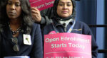 Obamacare Enrollment opens with a rally at Harlem Hospital Center